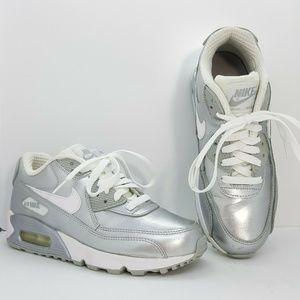 Nike Air Max 90 Metallic Premium Leather GS 724871